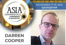 Старший економіст IGC - спікер Asia Grains&Oils Conference in Qazaqstan